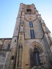 Eglise Saint-Arbogast, puis Notre-Dame de l'Assomption - Alsace, Haut-Rhin, Église Notre-Dame de l'Assomption de Rouffach (PA00085638, IA68004432).