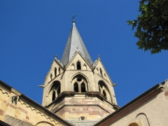 Eglise Saint-Arbogast, puis Notre-Dame de l'Assomption - Français:   Alsace, Haut-Rhin, Église Notre-Dame de l\'Assomption de Rouffach (PA00085638, IA68004432).