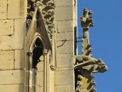 Eglise Saint-Arbogast, puis Notre-Dame de l'Assomption - Français:   Alsace, Haut-Rhin, Église Notre-Dame de l\'Assomption de Rouffach (PA00085638, IA68004432): Statues de la façade occidentale.