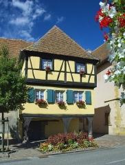 Immeuble ou maison dite des Trois Dames - Français:   Maison des Trois Dames, 15 rue du Maréchal-Lefebvre (Inscrit, 1975)