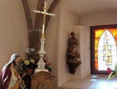 Eglise catholique Saint-Hippolyte - Français:   Alsace, Haut-Rhin, Église Saint-Hippolyte de Saint-Hippolyte (PA00085661, IA68005984): Intérieur de la sacristie.