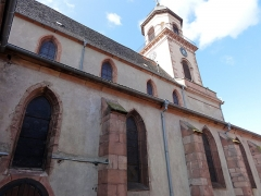 Eglise catholique Saint-Hippolyte - Français:   Alsace, Haut-Rhin, Église Saint-Hippolyte de Saint-Hippolyte (PA00085661, IA68005984).