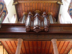 Eglise catholique Saint-Hippolyte - Alsace, Haut-Rhin, Église Saint-Hippolyte de Saint-Hippolyte (PA00085661, IA68005984). Orgue Johann Andreas Silbermann-Rinckenbach (1739-1908):       This object is classé Monument Historique in the base Palissy, database of the French furniture patrimony of the French ministry of culture, under the references PM68000936, IM68009231 and buffet PM68000342 buffet. brezhoneg | català | Deutsch | English | español | français | italiano | magyar | македонски | Plattdüütsch | português | suomi | +/−