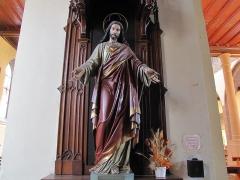 Eglise catholique Saint-Hippolyte - Alsace, Haut-Rhin, Église Saint-Hippolyte de Saint-Hippolyte (PA00085661, IA68005984): Statue