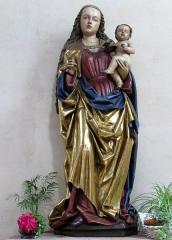 Eglise Saint-Maurice - Alsace, Église Saint-Maurice de Soultz-Haut-Rhin (PA00085681, IA00111946). Statue