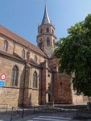 Eglise Saint-Maurice - Alsace, Église Saint-Maurice de Soultz-Haut-Rhin (PA00085681, IA00111946).