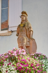 Statue de Saint-Maurice - French photographer