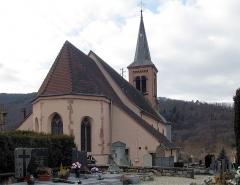 Eglise catholique Saint-Jean-Baptiste - Français:   L\'église Saint-Jean-Baptiste à Soultzbach-les-Bains