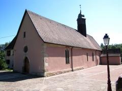 Chapelle Sainte-Marie dite chapelle du Schaefertal ou Val du Pâtre - Français:   Alsace, Haut-Rhin, Soultzmatt, Chapelle Sainte-Marie dite chapelle du Schaefertal ou Val du Pâtre (PA00085687, IA68004408).