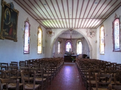Chapelle Sainte-Marie dite chapelle du Schaefertal ou Val du Pâtre - Français:   Alsace, Haut-Rhin, Soultzmatt, Chapelle Sainte-Marie dite chapelle du Schaefertal ou Val du Pâtre (PA00085687, IA68004408): Vue intérieure de la chapelle.