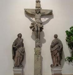 Eglise catholique Sainte-Anne - Alsace, Haut-Rhin, Église Sainte-Anne de Turckheim (PA00085709, IA68003621). Groupe sculpté