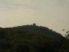 Ruines du château de Pflixbourg - Français:   Château du Pflixbourg (458 m) à Wintzenheim (Haut-Rhin, France).