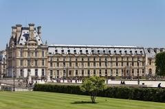 Plate-forme et constructions attenantes de la pièce 380 - English: Marsan Wing, Louvre Museum, Paris, France.