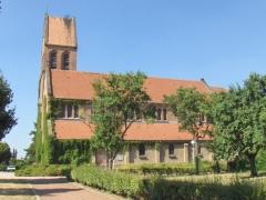 Eglise catholique Sainte-Barbe -  Eglise de la Cité Ste-Barbe. Construite en 1929 par l'architecte Georges Debus.