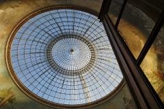 Bourse de commerce - Français:   Dôme Bourse du Commerce