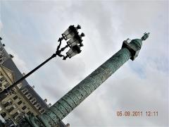 Colonne Vendôme - English: Paris, France. Place Vendome. COLONNE VENDOME. (PA00085790)