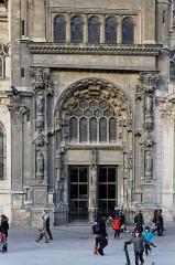 Eglise Saint-Eustache -  L'église Saint-Eustache à Paris.