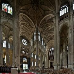 Eglise Saint-Eustache - Église Saint-Eustache, interieur, vue vers le sud-ouest
