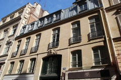 Ancien hôtel Tannevot - English: Hôtel Tannevot 26 Cambon street in Paris