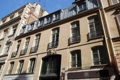 Ancien hôtel Tannevot - English: Hôtel Tannevot 26 Cambon street in Paris