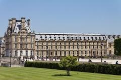 Palais du Louvre et jardin des Tuileries - English: Marsan Wing, Louvre Museum, Paris, France.