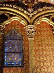 Sainte-Chapelle - This building is classé au titre des Monuments Historiques. It is indexed in the Base Mérimée, a database of architectural heritage maintained by the French Ministry of Culture,under the reference PA00086001 .