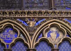 Sainte-Chapelle - Detail of Sainte-Chapelle located at 1st arrondissement of Paris, France.