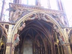 Sainte-Chapelle - interieur de la saint chapelle