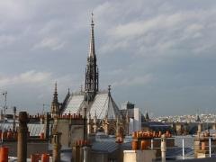 Sainte-Chapelle - Sainte-Chapelle (Classé) Vue de la préfecture de police de Paris