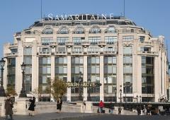 Grands magasins de la Samaritaine - English: La Samaritaine as seen from the pont Neuf, Paris, France.