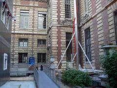 Bibliothèque Nationale de France - Paris - Travaux à la BnF Richelieu
