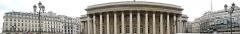 Bourse - English: Panoramic photo of Place de la Bourse