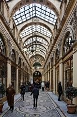 Galerie Vivienne, anciennement appelée galerie Marchoux -  La galerie Vivienne à Paris.