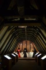 Ancien hôtel des ducs de Bourgogne : Tour de Jean Sans Peur - English: inside the roof of The Jean-sans-Peur Tower (1411), Paris.