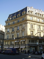 Ancien hôtel de l'Hospital, ou hôtel de Pomponne, ou hôtel de Massiac - English: Building built at the place where stood the Hôtel de L'Hospital (or de Pomponne or de Massiac)