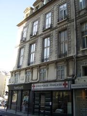Ancien hôtel Rambouillet de la Sablière, ou hôtel Clairambault - English: Hôtel Clairambault - 1 rue d'Aboukir Paris 2nd Arrdt