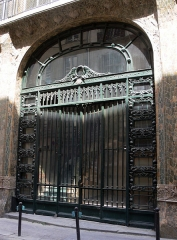 Immeuble - Français:   Paris - 6 rue de Hanovre