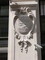 Immeuble du Crédit Lyonnais (siège) - Français:   Paris - siège du Crédit lyonnais - rue de Gramont