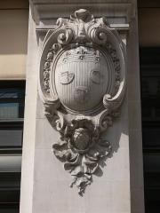 Immeuble du Crédit Lyonnais (siège) - Paris - siège du Crédit lyonnais - rue de Gramont
