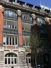 Immeuble du Crédit Lyonnais (annexe) - English: Annexe of the Crédit Lyonnais HQ; 6 rue Ménars; 2nd arrondissement, Paris