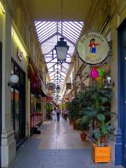 Passage des Panoramas et ses galeries annexes (galeries Feydeau, Montmartre, Saint-Marc, galerie des Variétés, ancienne boutique du graveur Stern) - English: Passage des Panoramas - Paris