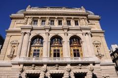 Théâtre de l'Opéra-Comique, dit salle Favart - English: Opéra Comique of Paris, located at rue Favart in the 2nd arrondissement of Paris in France.