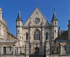 Ancienne abbaye Saint-Martin-des-Champs, actuellement Conservatoire National des Arts et Métiers et Musée National des Techniques - Français:   Musée des arts et métiers (ancien prieuré Saint-Martin-des-Champs) (Classé)