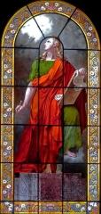 Eglise Sainte-Elisabeth - Français:   Église Sainte-Élisabeth-de-Hongrie - Paris III; Saint-Jean l\'Evangéliste; carton de Abel de Pujol (1828); vitrail signé L.Lobin Tours 1883[1]
