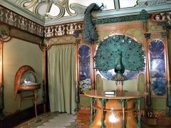 Hôtel Carnavalet - Français:   Paris, France. Hotel Carnavalet. (PA00086125)(Interior with peacocks)