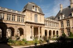 Hôtel Carnavalet - Français:   Hôtel de Carnavalet - jardin