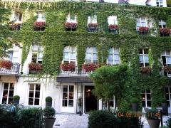 Ancien hôtel d'Espinoy et pavillon de la Reine - Paris, France. PLACE DES VOSGES. Pavillon de la Reine