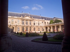 Anciens hôtels de Rohan et Soubise, actuellement Archives Nationales - English: Hôtel de Soubise, Paris IIIe arrondissement, France.