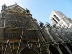 Cathédrale Notre-Dame - Español: Catedral construida en estilo gótico desde el 1163 al 1345. Francia