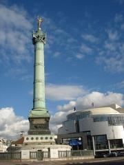 Colonne commémorative dite Colonne de Juillet - Colonne de Juillet, Paris, Place de la Bastille
